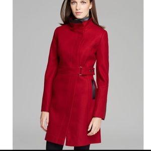 Via spiga wool coat